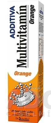 Additiv MULTIVITAMIN Orange tbl eff 1x20 ks