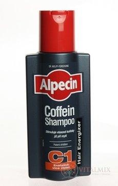 kofeinový šampon proti vypadávání vlasů