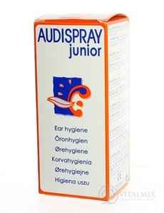 Audispray JUNIOR SPREJ NA ušní HYGIENU 1x25 ml