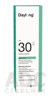 Daylong Sensitive SPF 30 gel - spray 1x150 ml