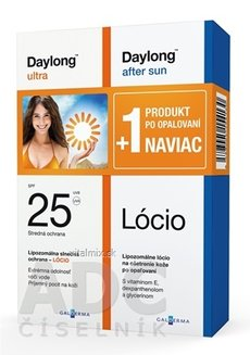 Daylong ultra SPF 25 + After sun loci NAVÍC locio 200 ml + locio 200 ml, 1x1 set