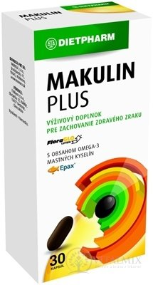 DIETPHARM MAKULIN PLUS cps 1x30 ks
