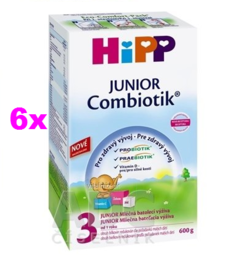 HIPP JUNIOR COMBIOTIK 3 6X600G