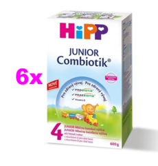 HIPP JUNIOR COMBIOTIK 4 6X600G