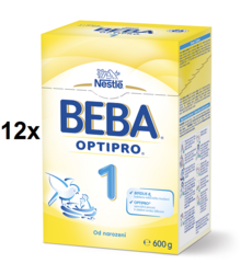 BEBA OPTIPRO 1 12x600G