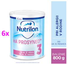 NUTRILON 3 HA PROSYNEO 800G 6ks
