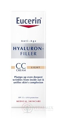 Eucerin HYALURON-FILLER CC krém světlý light 1x50 ml