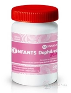 Infants DOPHILUS PLUS prášek 1x20 g