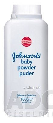 JOHNSON'S Baby pudr 1x100 g