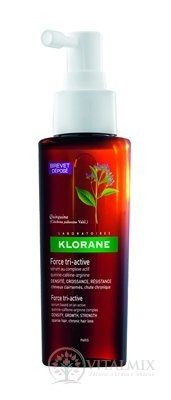 KLORANE FORCE TRI-ACTIVE sérum s komplexem chinin-kofein-arginin 1x100 ml