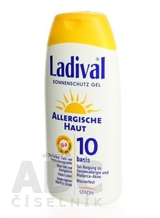 LADIVAL Allergy OF 10 gel 1x200 ml