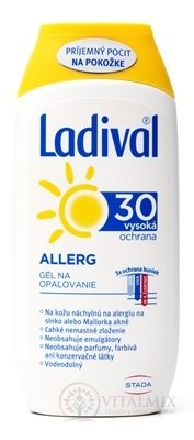 Ladival Allergy SPF 30 gel na opalování 1x200 ml