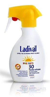 LADIVAL Children SPRAY SPF 30 sprej na ochranu proti slunci 1x200 ml