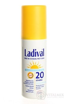 LADIVAL Transparent Spray 20LF transparentní sprej na ochranu proti slunci 1x150 ml