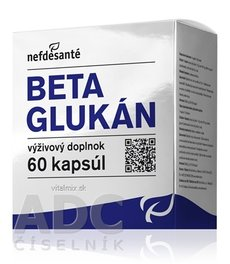 Nefdesanté BETA GLUKAN 100 mg cps 6x10 (60 ks)