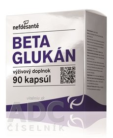 Nefdesanté BETA GLUKAN 100 mg cps 9x10 (90 ks)