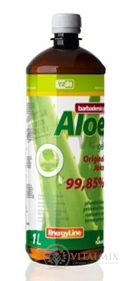 Virde ALOE VERA barbadensis gel original juice 1x1 l