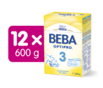 BEBA OPTIPRO 3  600G 12ks